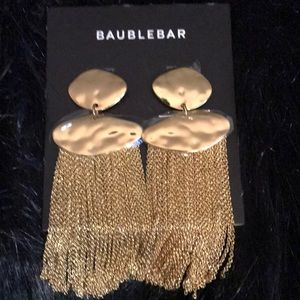 BAUBLE BAR FRINGE TASSEL EARRINGS